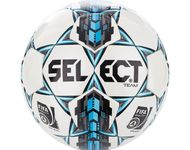 Voetbal Select 'Team' White/Royal