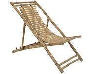 Strandstoel bamboe